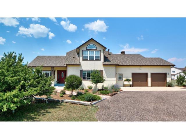 735 Struthers Loop, Colorado Springs, CO 80921 (#7871219) :: The HomeSmiths Team - Keller Williams