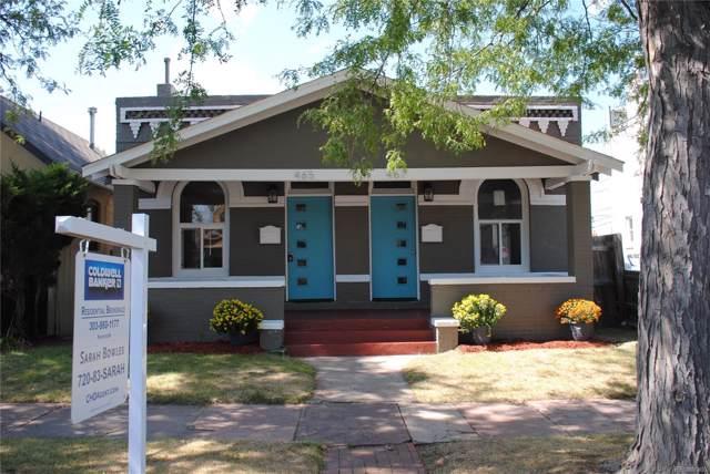 467 N Fox Street, Denver, CO 80204 (#7872841) :: Wisdom Real Estate