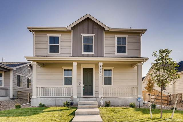 17930 E 100th Avenue, Commerce City, CO 80022 (#7874787) :: Bring Home Denver with Keller Williams Downtown Realty LLC