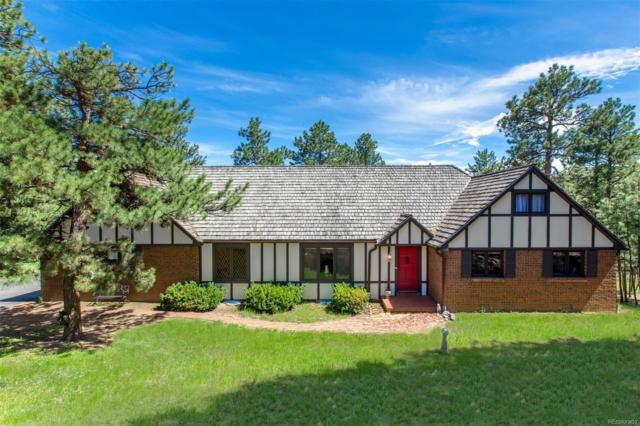 3130 Interlocken Drive, Evergreen, CO 80439 (#7875592) :: Mile High Luxury Real Estate