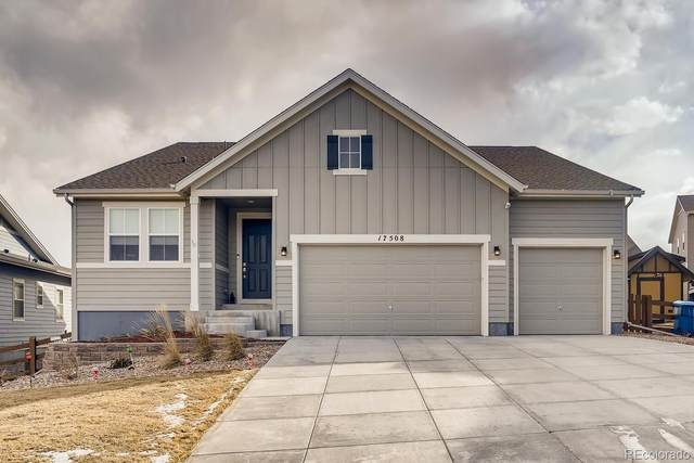17508 W 95th Avenue, Arvada, CO 80007 (#7876934) :: The Dixon Group