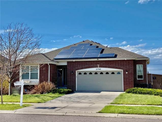 23945 E Wagon Trail Avenue, Aurora, CO 80016 (MLS #7877434) :: 8z Real Estate