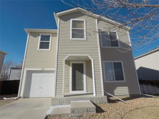 1215 Bluebird Street, Brighton, CO 80601 (#7881866) :: The City and Mountains Group