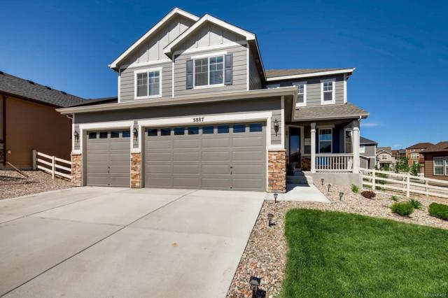 5887 Echo Hollow Street, Castle Rock, CO 80104 (#7884980) :: The HomeSmiths Team - Keller Williams