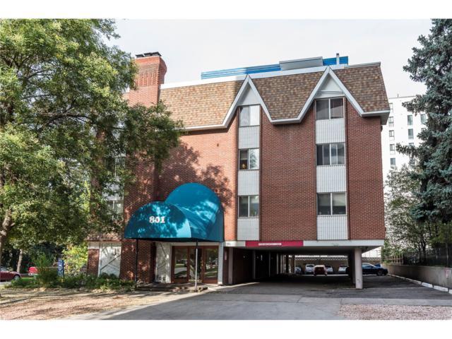 801 N Pennsylvania Street #305, Denver, CO 80203 (MLS #7887949) :: 8z Real Estate