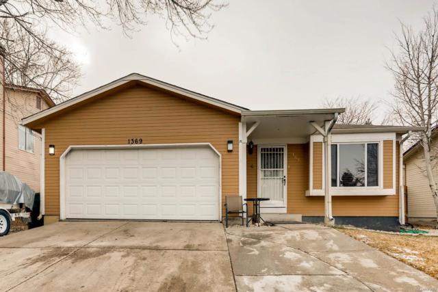 1369 S Cathay Street, Aurora, CO 80017 (#7889361) :: The Peak Properties Group