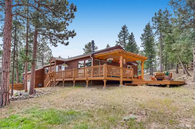 4805 County Road 72, Bailey, CO 80421 (#7890923) :: The DeGrood Team