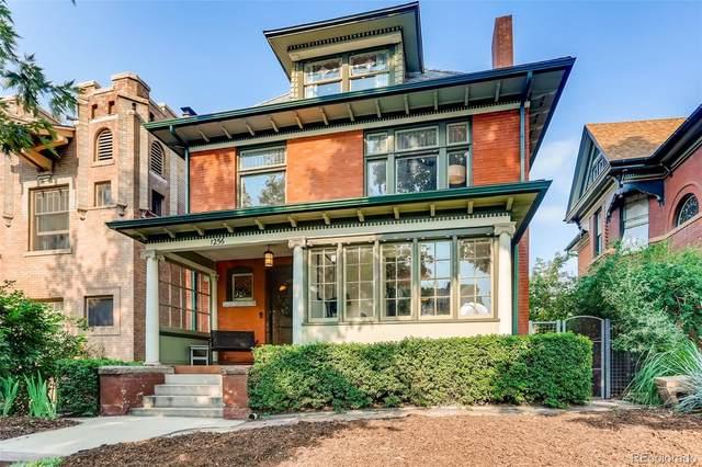 1256 N Emerson Street, Denver, CO 80218 (#7891000) :: Venterra Real Estate LLC