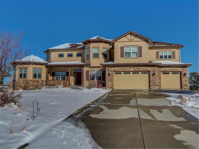7411 Upton Court, Castle Rock, CO 80104 (#7891343) :: The Peak Properties Group