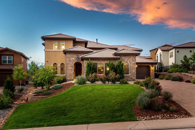 9697 Vista Hill Trail, Lone Tree, CO 80124 (#7893413) :: Mile High Luxury Real Estate