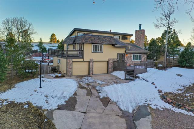 7980 Hillview Street, Parker, CO 80134 (#7898854) :: The City and Mountains Group