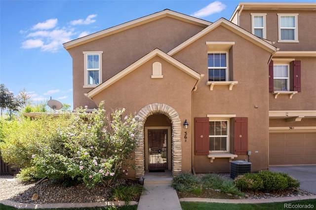 10580 Parkington Lane B, Highlands Ranch, CO 80126 (MLS #7900159) :: Neuhaus Real Estate, Inc.