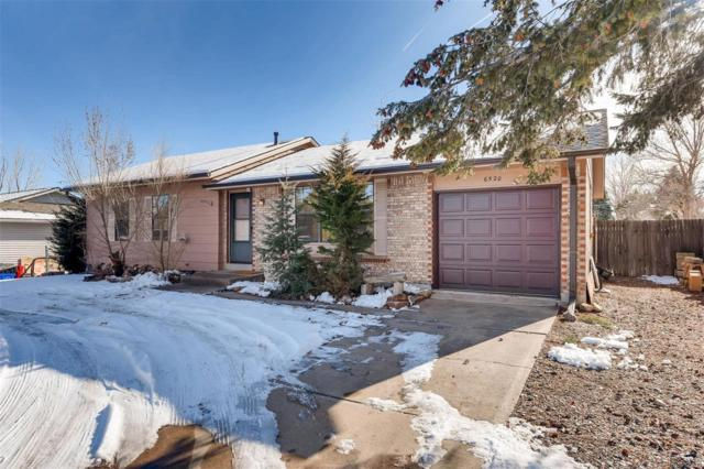 6520 W Chatfield Avenue, Littleton, CO 80128 (#7901375) :: House Hunters Colorado