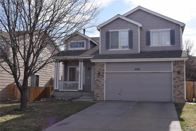 3770 S Jebel Way, Aurora, CO 80013 (#7907667) :: The Heyl Group at Keller Williams