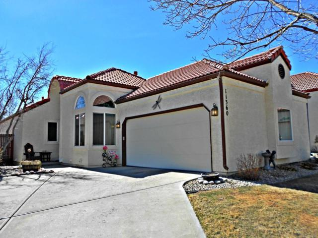 11360 W 84th Place, Arvada, CO 80005 (#7909105) :: The Peak Properties Group