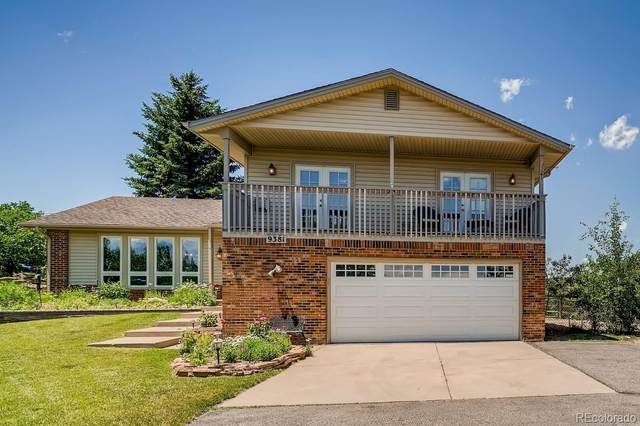 9381 N Corral Lane, Castle Rock, CO 80108 (MLS #7911280) :: 8z Real Estate