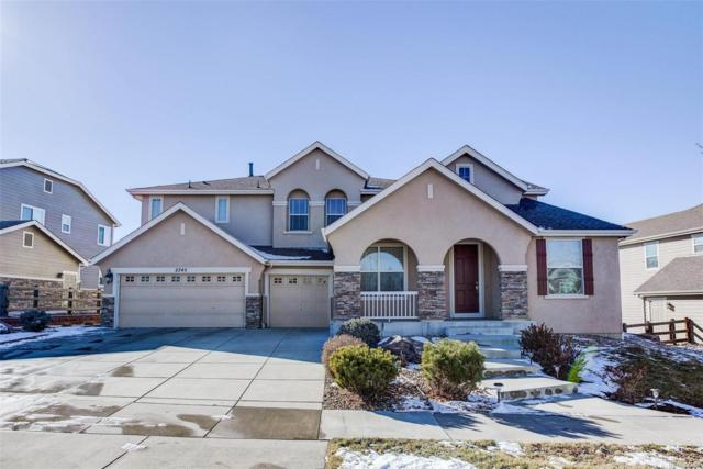 2745 Ironwood Circle, Erie, CO 80516 (#7913686) :: The Griffith Home Team