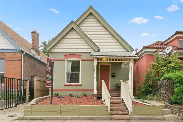 547 Cherokee Street, Denver, CO 80204 (#7915436) :: The HomeSmiths Team - Keller Williams