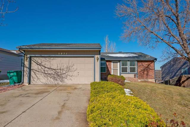 5971 W 75th Place, Arvada, CO 80003 (MLS #7916647) :: Keller Williams Realty