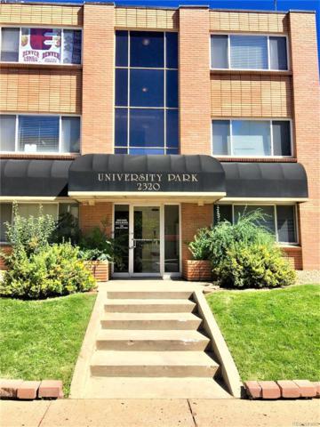 2320 S University Boulevard #202, Denver, CO 80210 (MLS #7919444) :: 8z Real Estate