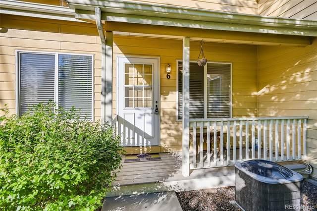 500 Lashley Street #6, Longmont, CO 80504 (#7921505) :: Bring Home Denver with Keller Williams Downtown Realty LLC