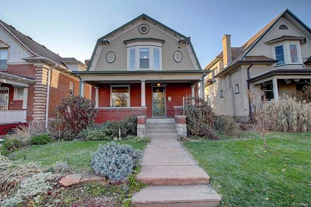 343 S Sherman Street, Denver, CO 80209 (#7921852) :: Bring Home Denver with Keller Williams Downtown Realty LLC