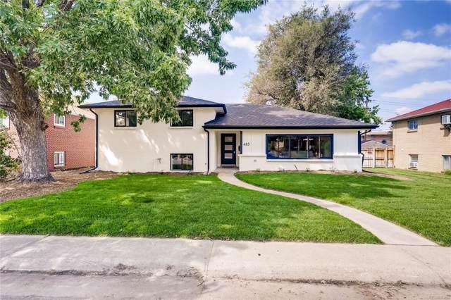 485 S Krameria Street, Denver, CO 80224 (MLS #7931138) :: Bliss Realty Group