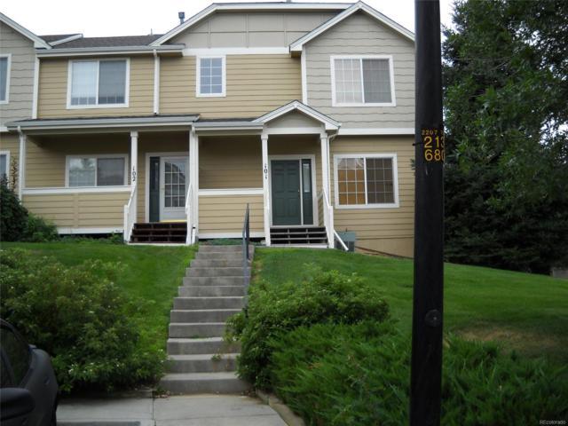 19225 E Carolina Place #102, Aurora, CO 80017 (MLS #7931324) :: 8z Real Estate