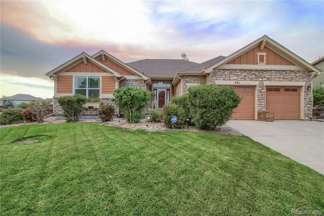 521 N Flat Rock Circle, Aurora, CO 80018 (#7934095) :: The Gilbert Group