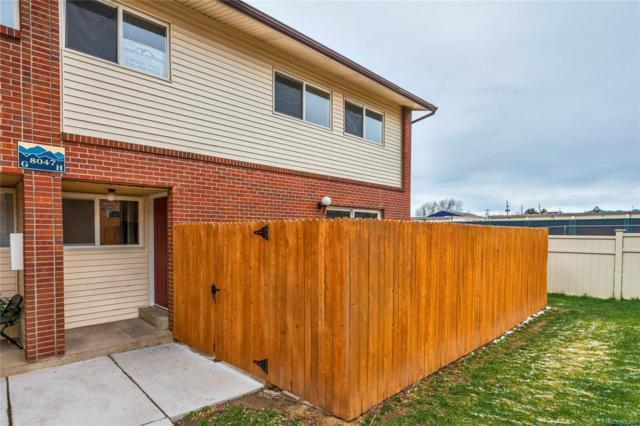 8047 Wolff Street H, Westminster, CO 80031 (#7935882) :: The DeGrood Team