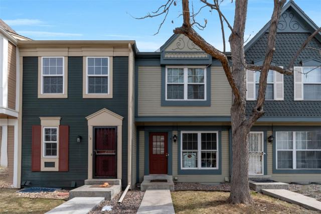 1699 S Trenton Street #9, Denver, CO 80231 (#7943220) :: The Heyl Group at Keller Williams