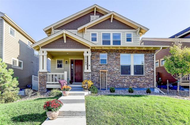 21743 E Tallkid Avenue, Parker, CO 80138 (#7944837) :: The Peak Properties Group
