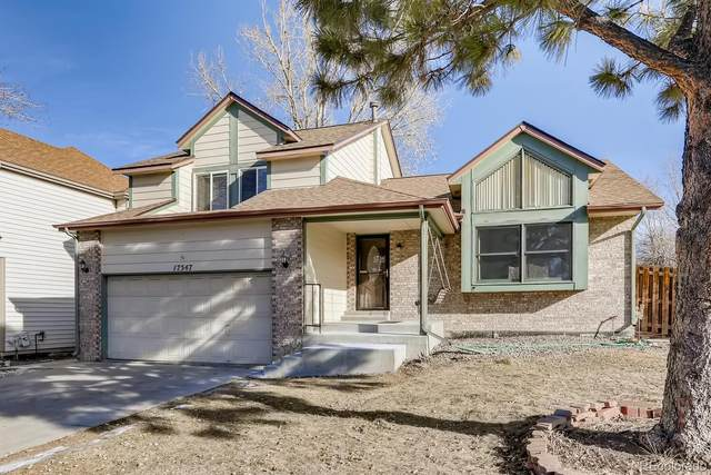 17547 E Wesley Place, Aurora, CO 80013 (#7945072) :: The Gilbert Group