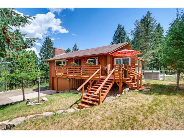 7350 Monica Lane, Evergreen, CO 80439 (MLS #7948212) :: 8z Real Estate