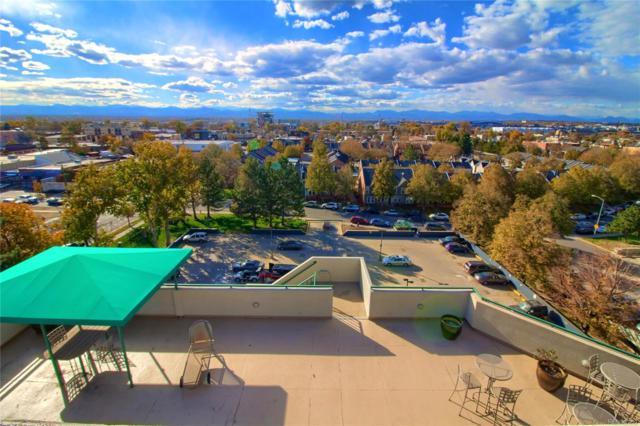 601 W 11th Avenue #814, Denver, CO 80204 (#7948715) :: Wisdom Real Estate
