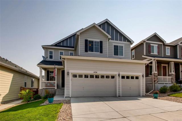 1424 Morningview Lane, Castle Rock, CO 80109 (#7949871) :: Briggs American Properties