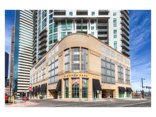 2001 Lincoln Street #922, Denver, CO 80202 (#7951678) :: The Dixon Group