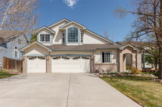 7443 La Quinta Lane, Lone Tree, CO 80124 (#7957039) :: The HomeSmiths Team - Keller Williams