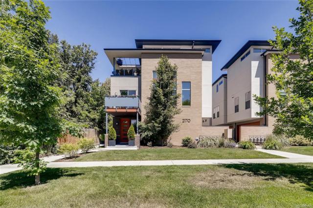 2170 S Josephine Street #1, Denver, CO 80210 (#7957906) :: James Crocker Team