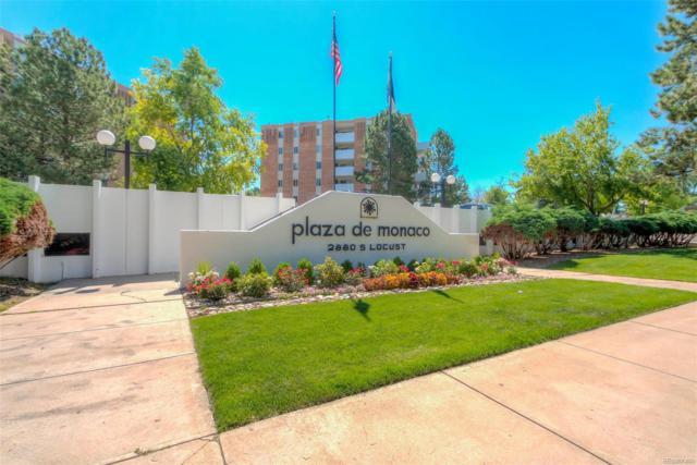 2880 S Locust Street S209, Denver, CO 80222 (#7969193) :: The Heyl Group at Keller Williams