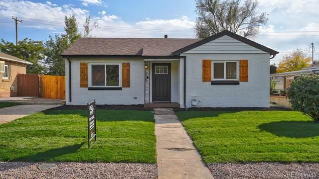 3720 Martin Luther King Boulevard Jr, Denver, CO 80205 (MLS #7974484) :: 8z Real Estate