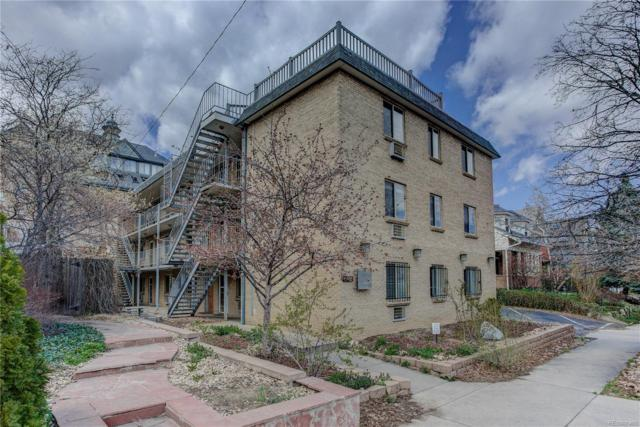 1135 Elizabeth Street #202, Denver, CO 80206 (#7976404) :: Wisdom Real Estate