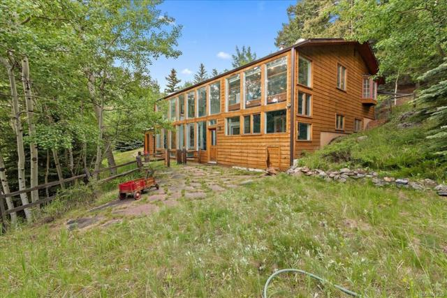 4300 Witter Gulch Road, Evergreen, CO 80439 (#7978275) :: James Crocker Team