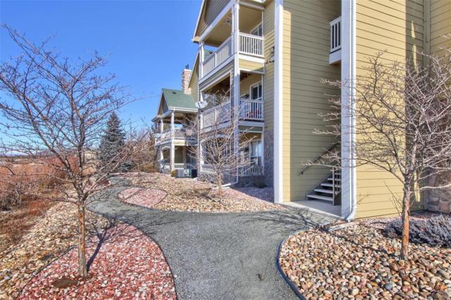 6017 Castlegate Drive F26, Castle Rock, CO 80108 (MLS #7978994) :: JROC Properties