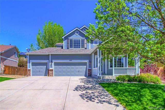 5907 E Tabor Place, Castle Rock, CO 80104 (#7980082) :: Mile High Luxury Real Estate