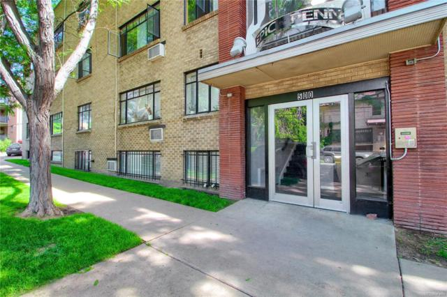 500 E 11th Avenue #304, Denver, CO 80203 (#7982297) :: The HomeSmiths Team - Keller Williams