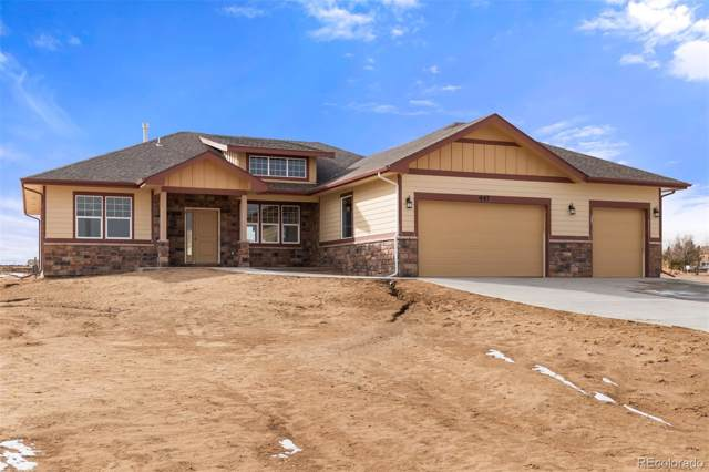 447 Valley Way, Bennett, CO 80102 (#7983214) :: The DeGrood Team