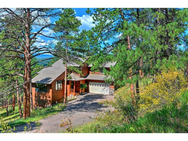 7395 Heiter Hill Drive, Evergreen, CO 80439 (MLS #7992804) :: One Premier Properties Limited