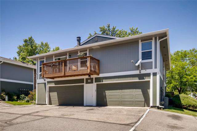 10001 E Evans Avenue 65D, Denver, CO 80247 (#7994104) :: James Crocker Team