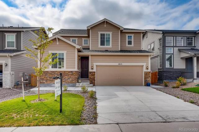 1015 White Leaf Circle, Castle Rock, CO 80108 (#7995260) :: The Brokerage Group